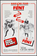 "Movie Posters:Adventure, Our Man Flint/ In Like Flint Combo (20th Century Fox, R-1967). OneSheet (27"" X 41""). Adventure.. ..."