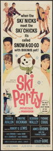 """Movie Posters:Comedy, Ski Party Lot (American International, 1965). Inserts (2) (14"""" X 36""""). Comedy.. ... (Total: 2 Items)"""