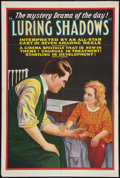 "Movie Posters:Mystery, Luring Shadows (Zespol, 1920). One Sheet (28"" X 42""). Mystery.. ..."