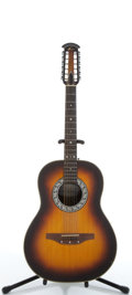 Musical Instruments:Acoustic Guitars, Ovation 1115 Sunburst 12 String Classical Acoustic Guitar,#178660....