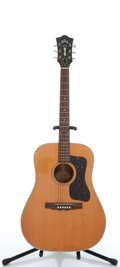 Musical Instruments:Acoustic Guitars, 1968 Guild D-40 Natural Acoustic Guitar, #AJ2782....