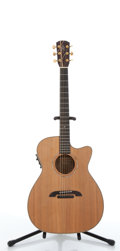 Musical Instruments:Acoustic Guitars, 1993 Alvarez By Yairi WY-1 Natural Electric Acoustic Guitar#42019....