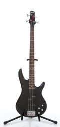 Musical Instruments:Bass Guitars, 2004 Ibanez GSR200 Black Electric Bass Guitar #I040112334....