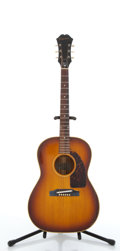 Musical Instruments:Acoustic Guitars, Vintage Epiphone FT45 Cortez Sunburst Acoustic Guitar #432714....