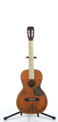 Musical Instruments:Acoustic Guitars, Vintage Regal Natural Parlor Acoustic Guitar # N/A....