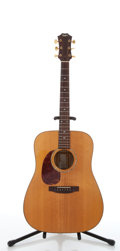 Musical Instruments:Acoustic Guitars, 1977 Taylor Dreadnought Left Handed Natural Acoustic Guitar,#00102....