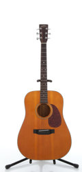 Musical Instruments:Acoustic Guitars, Circa 1980's Sigma SDM-18 Natural Acoustic Guitar, Serial#89091205....