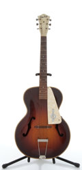 Musical Instruments:Acoustic Guitars, Vintage Custom Kraft 23 Sunburst Archtop Acoustic Guitar # N/A....