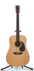 Musical Instruments:Acoustic Guitars, Sigma DM-5 Natural Acoustic Guitar #S12200....
