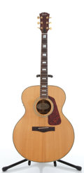 Musical Instruments:Acoustic Guitars, Fender 1600 Natural Electric Acoustic Guitar #9031243....