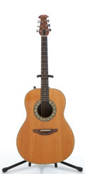 Musical Instruments:Acoustic Guitars, Ovation Natural Electric Acoustic Guitar #040094....
