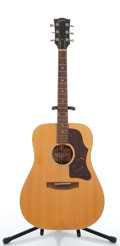 Musical Instruments:Acoustic Guitars, 1977 Gibson J-40 Natural Acoustic Guitar #72557154....