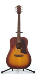 Musical Instruments:Acoustic Guitars, Gibson J-45 Deluxe Sunburst Project Acoustic Guitar #A601136....