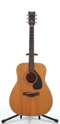 Musical Instruments:Acoustic Guitars, Vintage Yamaha FG-180 Natural Acoustic Guitar #1393404....