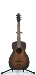 Musical Instruments:Acoustic Guitars, Vintage Buckeye Brand Sunburst Acoustic Guitar # N/A....