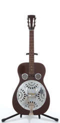 Musical Instruments:Resonator Guitars, No Name Cherry Resonator Guitar #N/A....