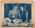 Memorabilia:Poster, Tarzan the Tiger Movie Lobby Card (Universal, 1929) Condition:Good....