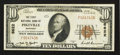 National Bank Notes:Kentucky, Pikeville, KY - $10 1929 Ty. 1 The First NB Ch. # 6622. ...