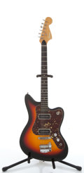 Musical Instruments:Electric Guitars, Vintage Framus Sunburst Electric Guitar # N/A....