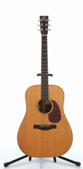 Musical Instruments:Acoustic Guitars, Santa Cruz D Natural Acoustic Guitar #3180....
