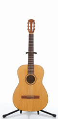 Musical Instruments:Acoustic Guitars, Vintage Goya G-10 Natural Classical Acoustic Guitar #385309....