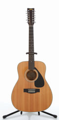 Musical Instruments:Acoustic Guitars, Yamaha FG-312 II Natural 12-String Acoustic Guitar #207070266....