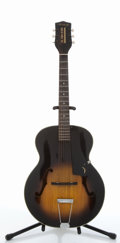 Musical Instruments:Acoustic Guitars, Vintage Harmony Broadway Sunburst Archtop Acoustic Guitar # N/A....