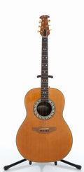 Musical Instruments:Acoustic Guitars, Ovation 1117-4 Natural Acoustic Guitar #126430....