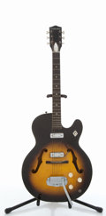 Musical Instruments:Electric Guitars, 1960's Silvertone Sunburst Electric Guitar, #2010H1439....