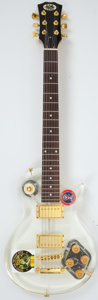 Musical Instruments:Electric Guitars, New Yorker Pro Les Paul Copy Acrylic Electric Guitar #N/A....
