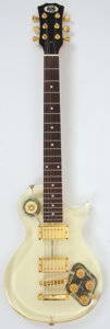 Musical Instruments:Electric Guitars, New York Pro Les Paul Copy Acrylic Electric Guitar #N/A. ...