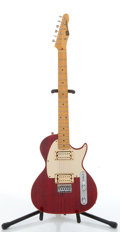 Musical Instruments:Electric Guitars, Strings & Things Custom Tele Copy Red Electric Guitar#00193....
