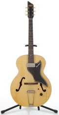 Musical Instruments:Electric Guitars, Circa 1956 Supro Ranchero Blonde Archtop Electric Guitar#X63308....