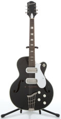 Musical Instruments:Electric Guitars, Espanada Gretsch Copy Black Archtop Electric Guitar #288H63....