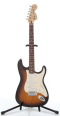 Musical Instruments:Electric Guitars, 1985 Fender Stratocaster Sunburst Electric Guitar #E706185....