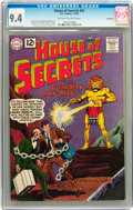 Silver Age (1956-1969):Horror, House of Secrets #52 Savannah pedigree (DC, 1962) CGC NM 9.4Off-white to white pages....