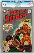 Silver Age (1956-1969):Mystery, House of Secrets #55 Savannah pedigree (DC, 1962) CGC NM- 9.2 Creamto off-white pages....