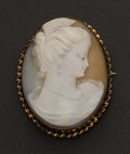 Estate Jewelry:Cameos, Antique Shell Cameo. ...