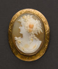 Estate Jewelry:Cameos, Antique Cameo, Circa 1911. ...