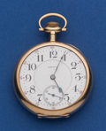 Timepieces:Pocket (post 1900), Waltham 21 Jewel 14k Gold 16 Size Pocket Watch. ...