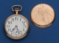 Timepieces:Pocket (post 1900), Elgin 21 Jewel 16 Size Father Time Pocket Watch. ...