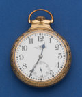 Timepieces:Pocket (post 1900), Ball 21 Jewel 16 Size Official Standard Pocket Watch. ...
