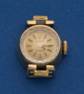 Timepieces:Wristwatch, Rolex Orchid 18k Gold Ladies Wristwatch. ...