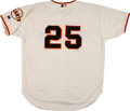 """Baseball Collectibles:Uniforms, Barry Bonds Unsigned """"Authentic Russell Athletic"""" Jersey...."""
