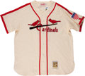 "Baseball Collectibles:Uniforms, Stan Musial Unsigned ""Mitchell & Ness"" Flannel Jersey...."