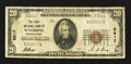National Bank Notes:Pennsylvania, Wyoming, PA - $20 1929 Ty. 1 The First NB Ch. # 8517. ...