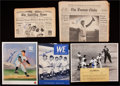 Baseball Collectibles:Others, Baseball Stars Signed Memorabilia Lot of 5....