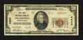 National Bank Notes:Pennsylvania, Girardville, PA - $20 1929 Ty. 2 The First NB Ch. # 4422. ...