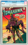 Silver Age (1956-1969):Adventure, Tomahawk #121 Savannah pedigree (DC, 1969) CGC NM 9.4 Off-white to white pages....