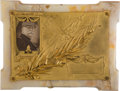 Military & Patriotic:WWI, First Battle of the Marne Commemorative Plaque....